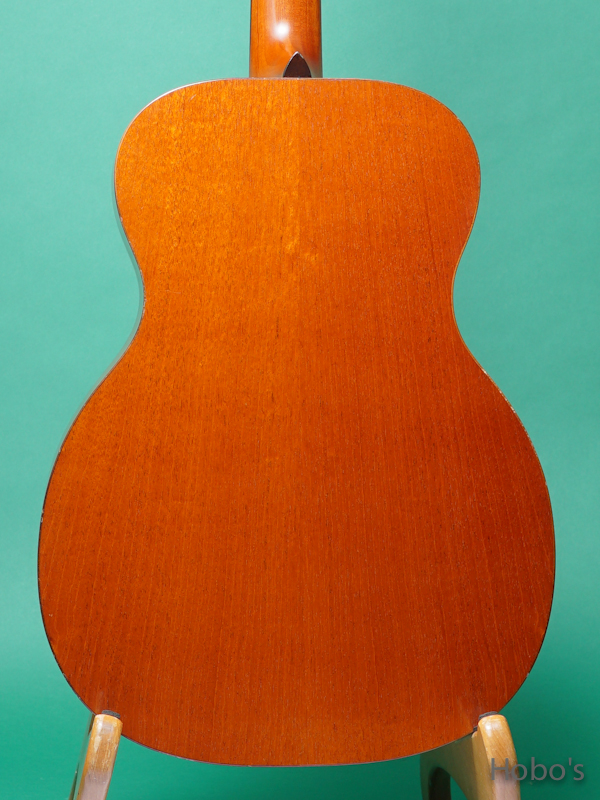 "TODA GUITARS (戸田 真次)  Model OO ""All Mahogany""  6"