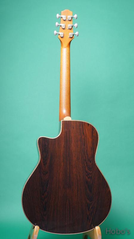 "Yokoyama Guitar (横山 正) AR-GB ""German / Brazilian Rosewood""  BACK"