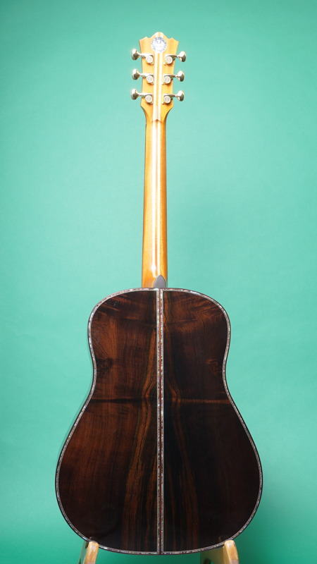 """Terry's Terry / Premium Terry (テリー中本) PTJ-100 """"German / Brazilian Rosewood""""  BACK"""
