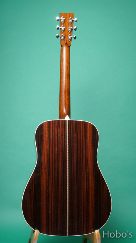 "COLLINGS D-2HT ""Traditional Series""   BACK"