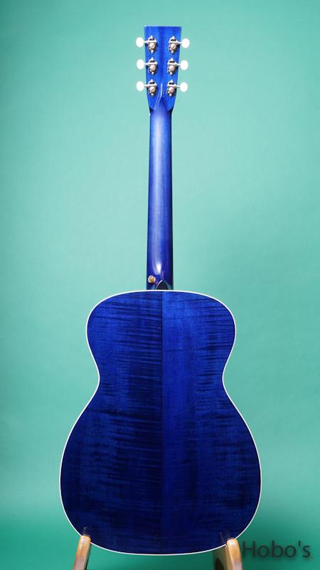 "Rockbridge Guitar (B.Calhoun / R.Ray /A.McNeil ) Model OO Custom ""German / Figured Maple"" BACK"