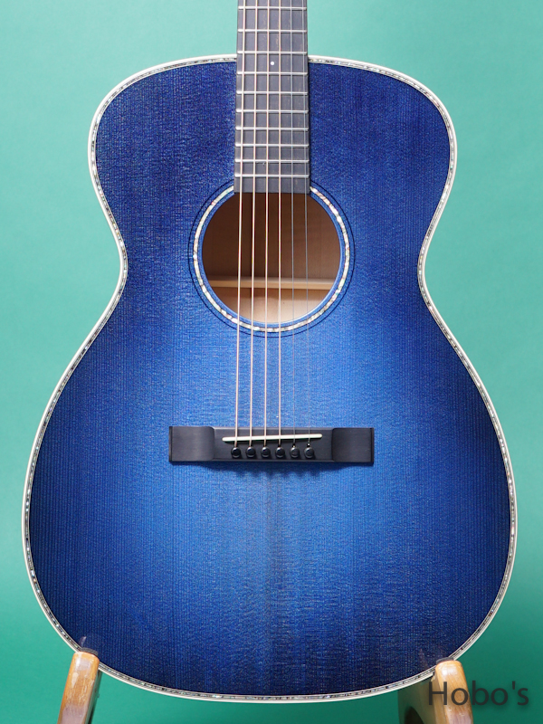 "Rockbridge Guitar (B.Calhoun / R.Ray /A.McNeil ) Model OO Custom ""German / Figured Maple"" 5"