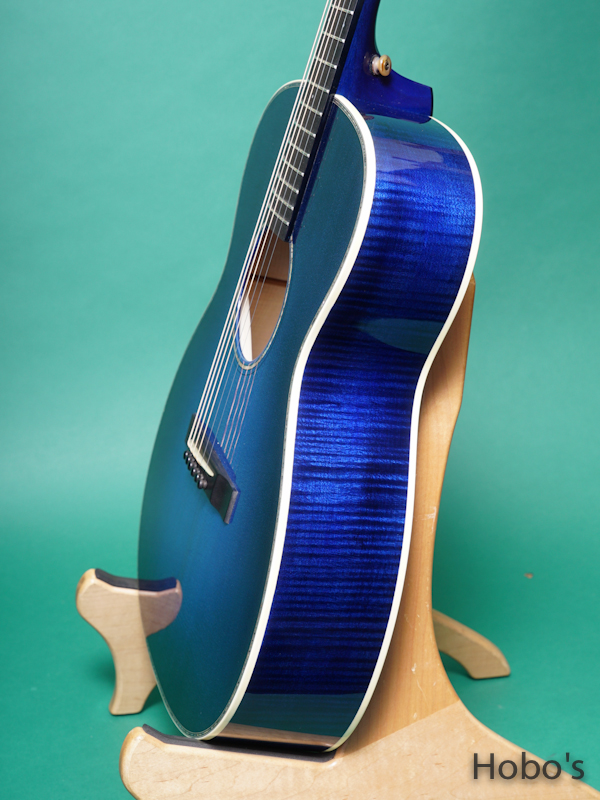 "Rockbridge Guitar (B.Calhoun / R.Ray /A.McNeil ) Model OO Custom ""German / Figured Maple"" 8"
