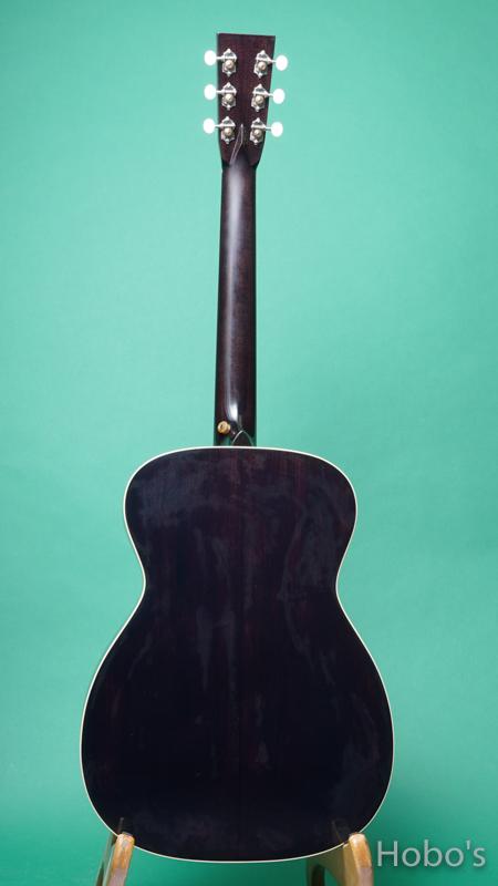 "Rockbridge Guitar (B.Calhoun / R.Ray /A.McNeil ) Model OO Custom ""German / Honduras Rosewood""  BACK"