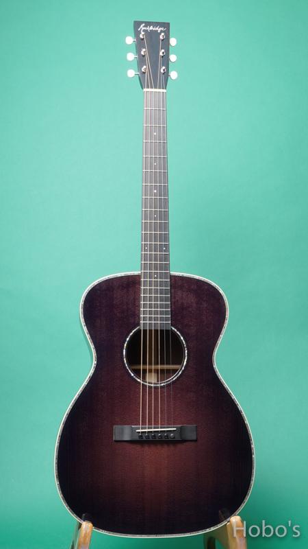 "Rockbridge Guitar (B.Calhoun / R.Ray /A.McNeil ) Model OO Custom ""German / Honduras Rosewood""  FRONT"