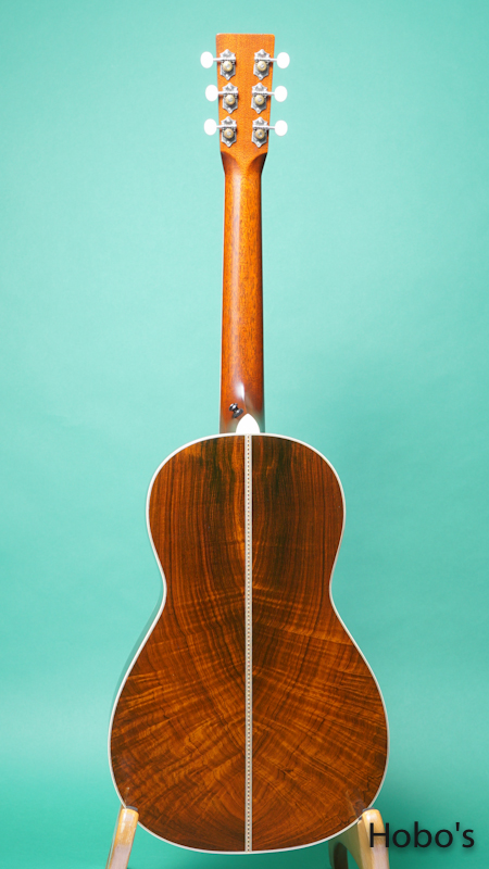 "SANTA CRUZ Model PJ ""Brazilian Rosewood""  BACK"