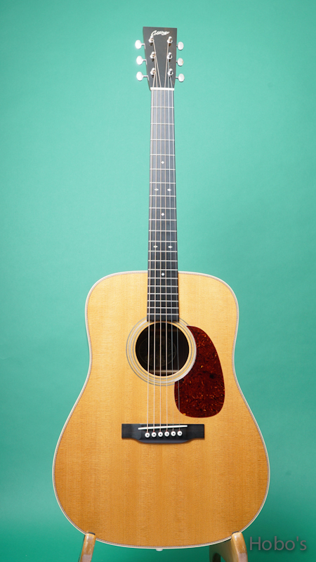 """COLLINGS D-2HT Custom """"Torrefied Sitka Top / 1 11/16 Nut"""""""" FRONT"""