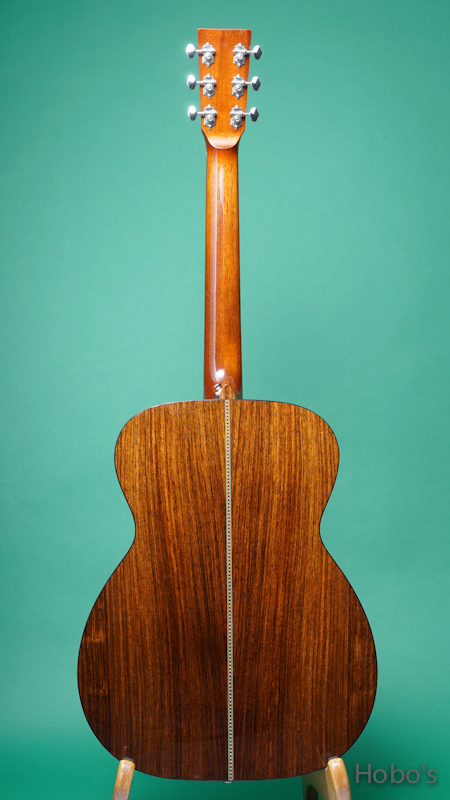 Dell' Arte (John.S.Kinnard) Model OOO Rosewood BACK
