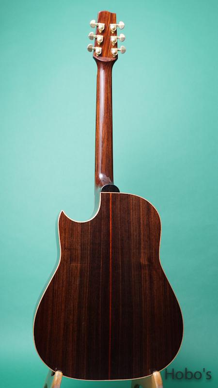 Langejans Guitars (Del Langejans) R-6 BACK