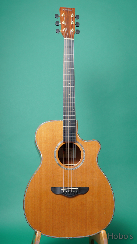 Northwood Guitars (John McQuarrie)  M70-OMV FRONT