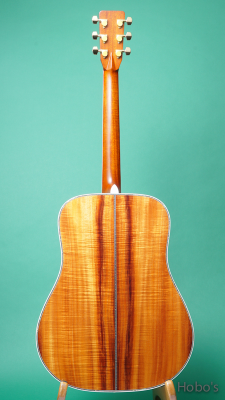"K.YAIRI DY Custom ""Premium Hawaiian Koa""   BACK"
