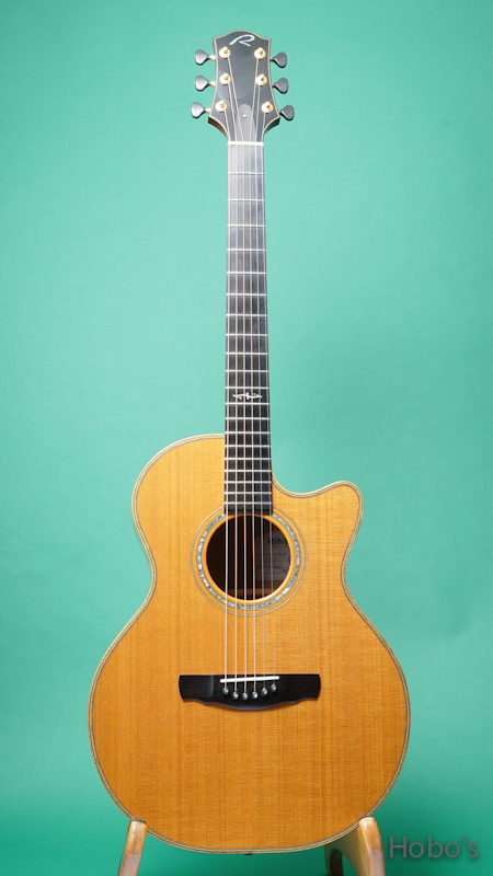 KEVIN RYAN Mission Grand Concert Cutaway  FRONT