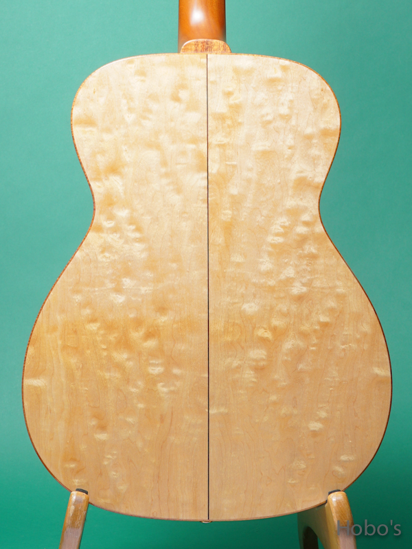 "K.YAIRI OM Custom ""Bear Claw Sitka / Quilted Maple""  6"