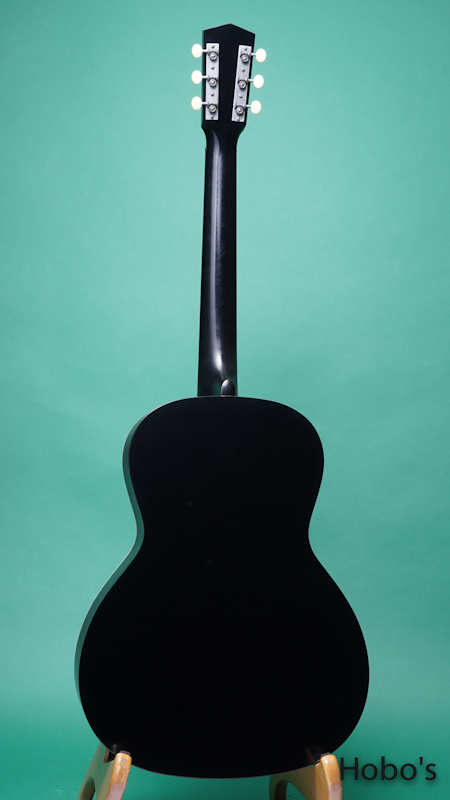 "Waterloo (By Collings) WL-14X TR BLK ""Small Neck"" BACK"