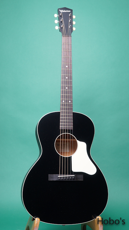 "Waterloo (By Collings) WL-14X TR BLK ""Small Neck"" FRONT"