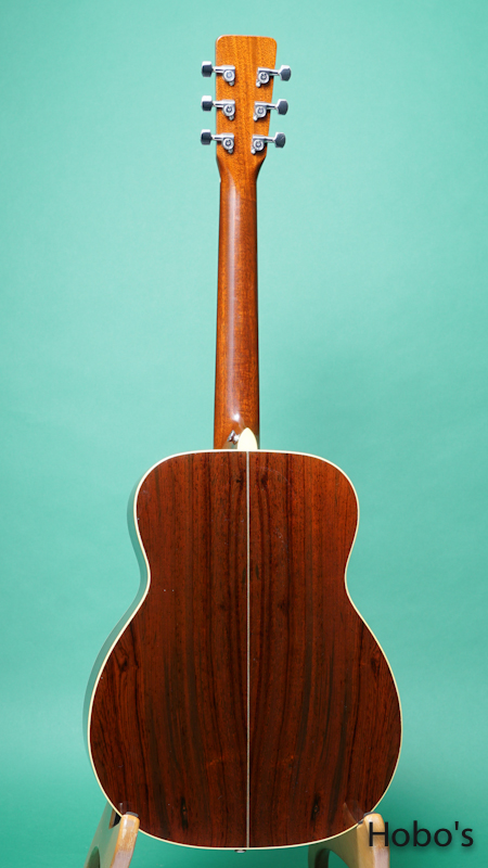 "Heiden Stringed Instruments (Michael Heiden) Model Custom ""Brazilian Rosewood"" BACK"