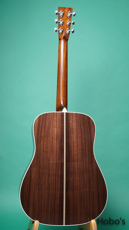 "COLLINGS D-2HT ""Torrefied Sitka Spruce""   BACK"