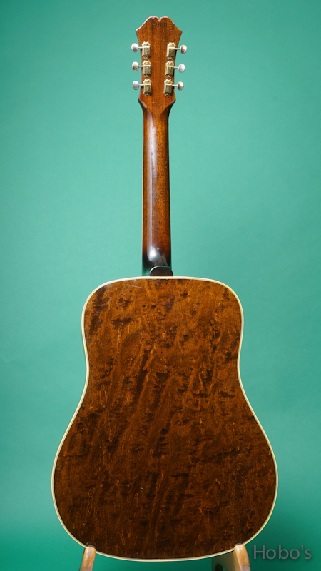 """Waterloo (By Collings) WL-14L Longhorn  """"Japan Limited Edition""""  BACK"""