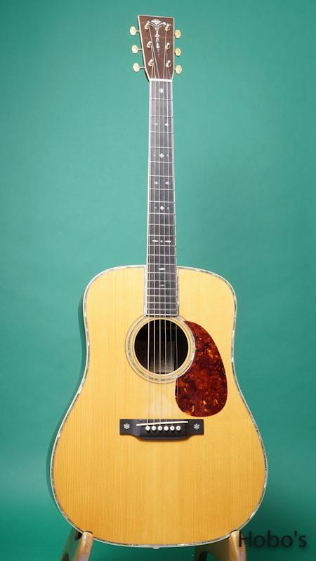 """NGC (Nashvill Guitar Co) D-42 Custom """"Adirondack / Brazilian Rosewood"""" FRONT"""