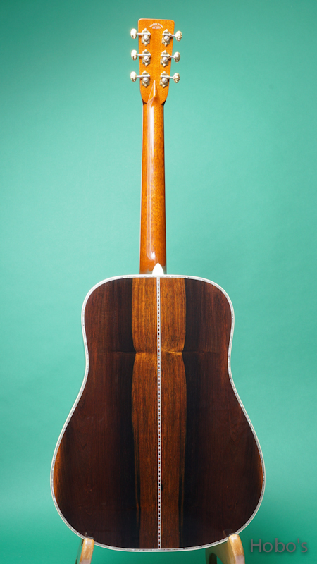 "HEADWAY (百瀬 恭夫) HD-450 Custom ""Adirondack / Brazilian Rosewood""   BACK"