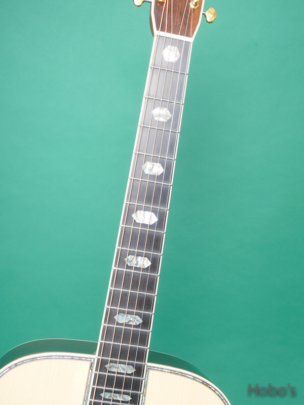 """HEADWAY (百瀬 恭夫) HD-450 Custom """"Adirondack / Brazilian Rosewood""""   3"""