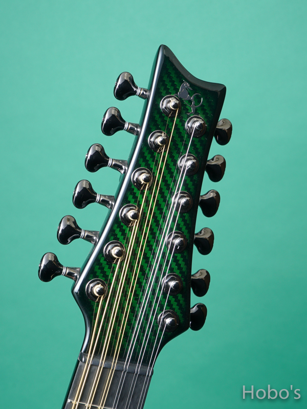 """Emerald Guitars Amicas Green """"坂崎幸之助セレクトモデル"""" 1"""
