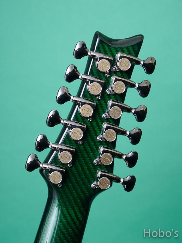 """Emerald Guitars Amicas Green """"坂崎幸之助セレクトモデル"""" 2"""