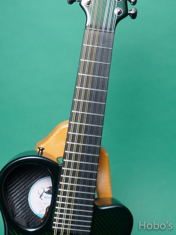 """Emerald Guitars Amicas Green """"坂崎幸之助セレクトモデル"""" 3"""