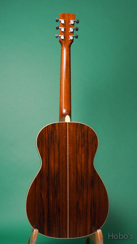 "James Goodall MdRP-14 ""AAA Engelmann / Madagascar Rosewood"" BACK"