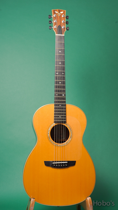 "James Goodall MdRP-14 ""AAA Engelmann / Madagascar Rosewood"" FRONT"