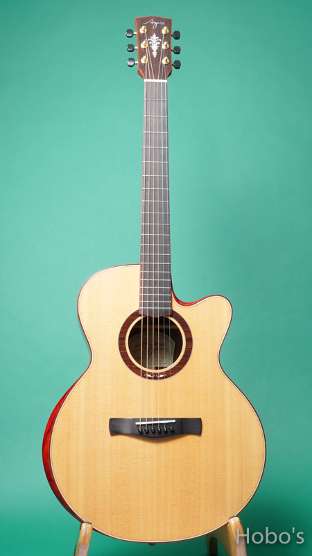 """AYERS SJ07-CX-NH """"AAA Sitka Spruce Top""""  FRONT"""