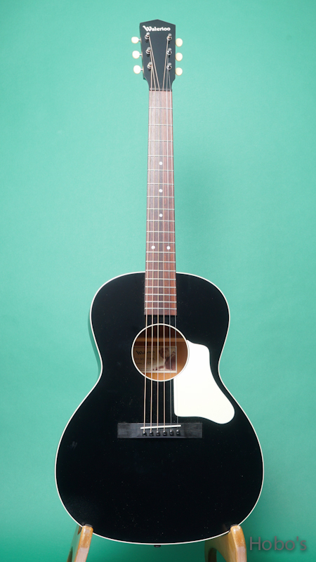 "Waterloo (By Collings) WL-14X TR BLK ""長岡亮介氏セレクトモデル"" FRONT"