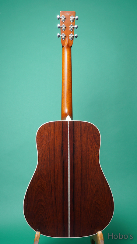 "HEADWAY (降幡 新) HD-280 Custom ""German / Madagascar Rosewood""      BACK"
