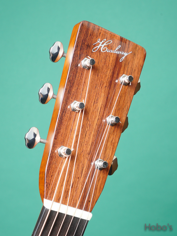 "HEADWAY (降幡 新) HD-280 Custom ""German / Madagascar Rosewood""      1"
