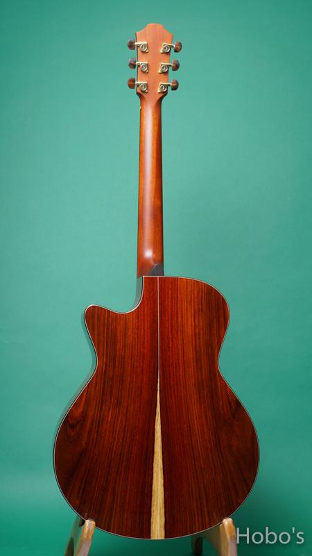 "FURCH GUITARS G23 ECCT Custom ""Engelmann / Cocobolo""  BACK"