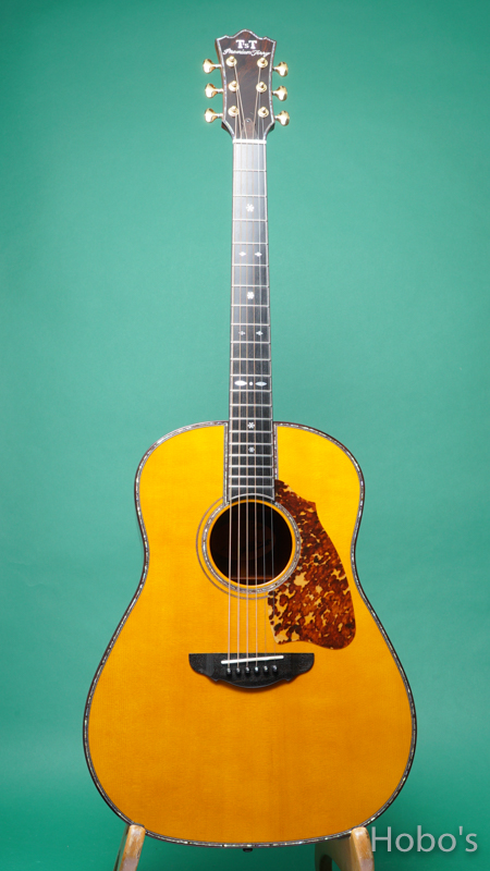 """Terry's Terry / Premium Terry (テリー中本) PTJ-100GM  """"German / Madagascar Rosewood"""" FRONT"""