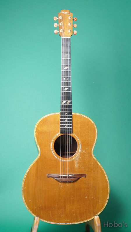 """LOWDEN F-38 """"Brazilian Rosewood""""  FRONT"""