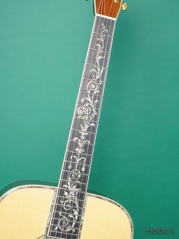 "Randy Lucas LD-45 Tree Of Life  ""Adirondack / Brazilian Rosewo 3"