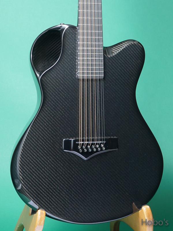 "Emerald Guitars X20-12 Black w/Anthem ""12 Strings Guitar""  5"