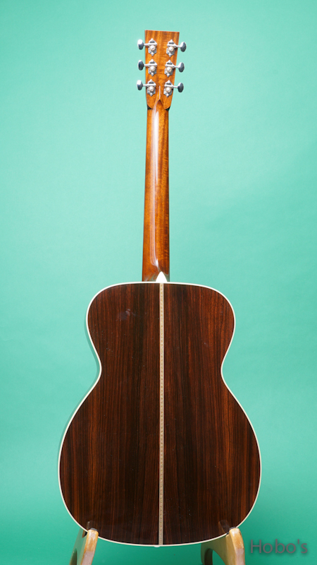 """COLLINGS OM-2HT """"Torrefied Sitka Top""""    BACK"""