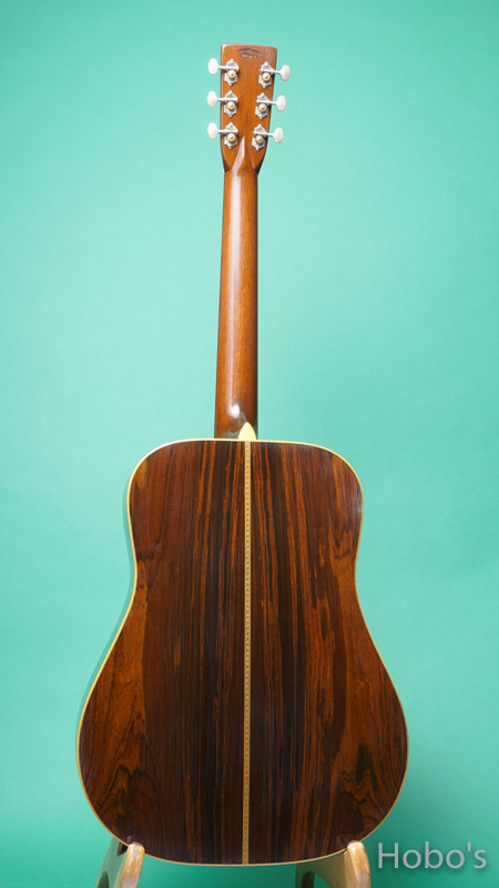 Pre-war Guitars Co. HD Brazilian Rosewood Level 1 BACK