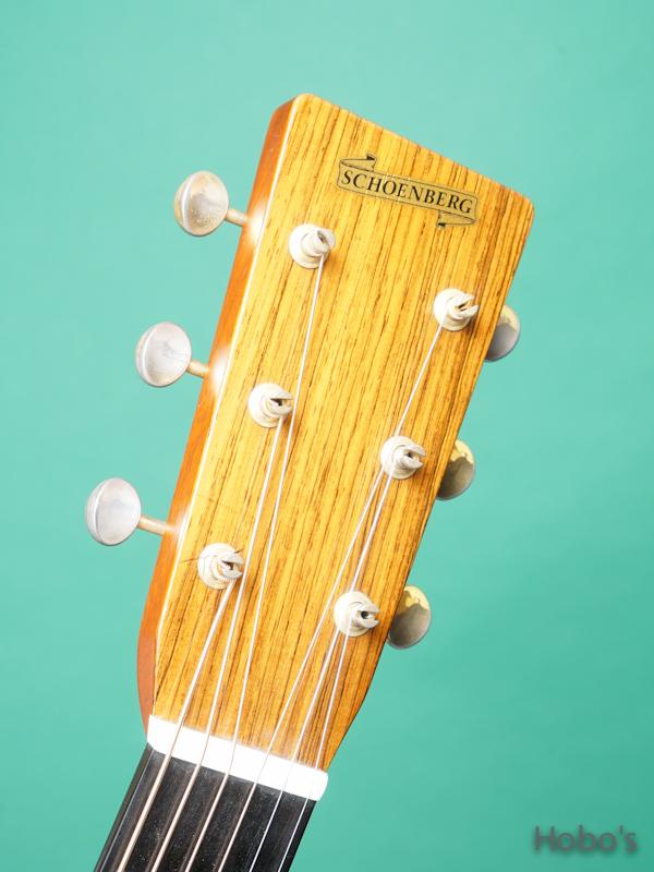 "Schoenberg Guitars (T.J. Thompson)  Soloist Cutaway ""Selected European Spruce""  1"
