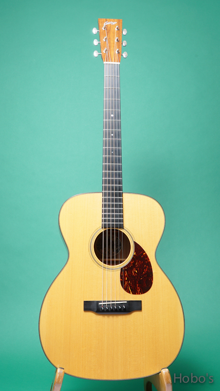 "COLLINGS OM-1 SR G Custom ""German / Sacha Rosewood""   FRONT"