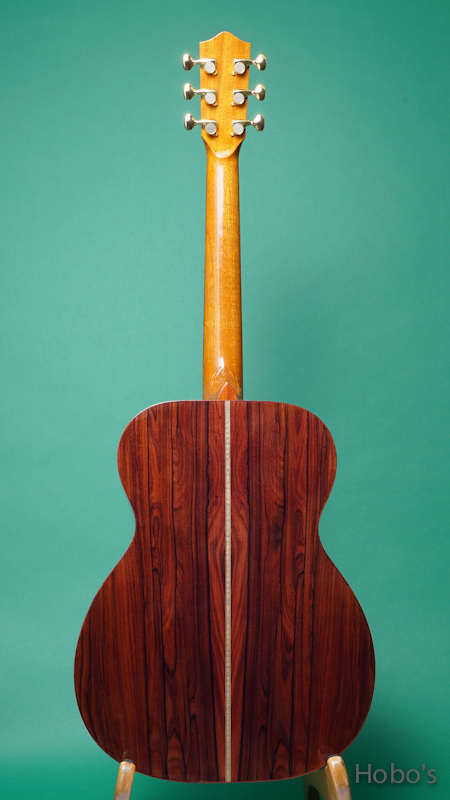 """GREVEN (John Greven) OOO Oshio Model """"Luts Spruce / Brazilian Rosewood""""  BACK"""
