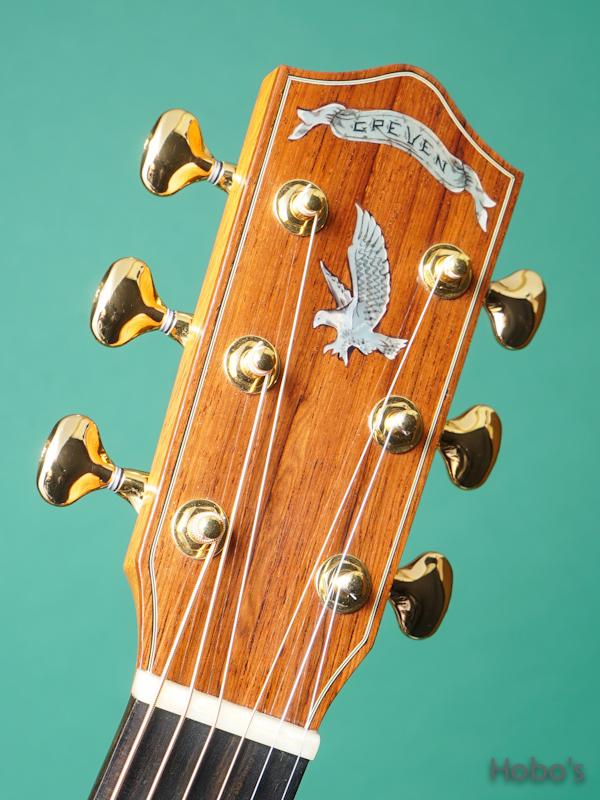 """GREVEN (John Greven) OOO Oshio Model """"Luts Spruce / Brazilian Rosewood""""  1"""