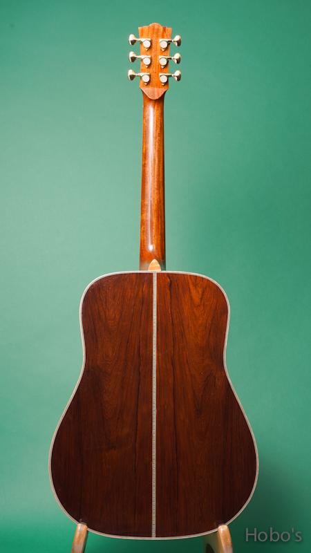 "Frayns Guitars (磯田 洋介) FRG-D-MD ""German / Madagascar Rosewood""  BACK"
