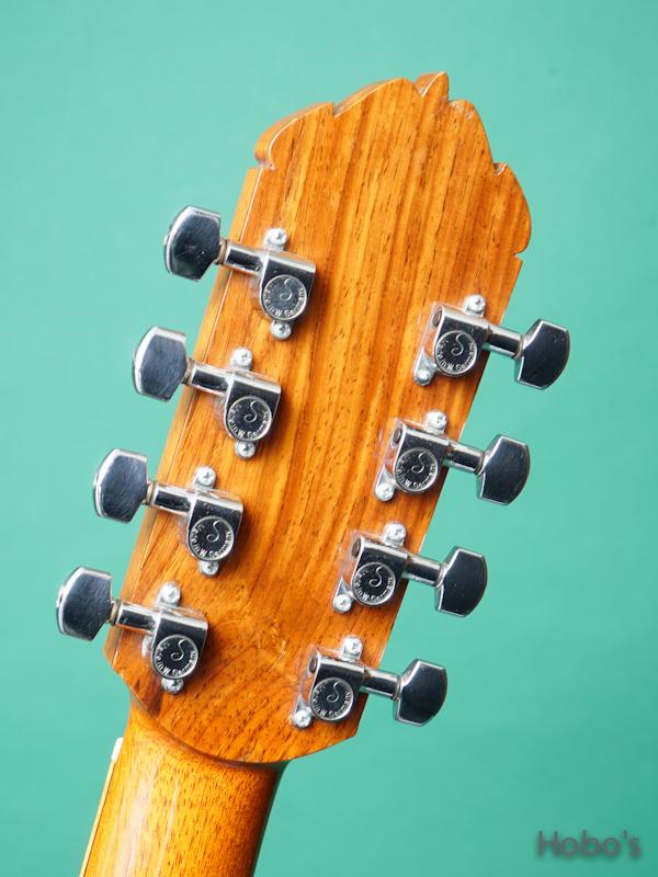 "Ervin Somogyi Model D Cutaway ""8 Strings Guitar"" 2"