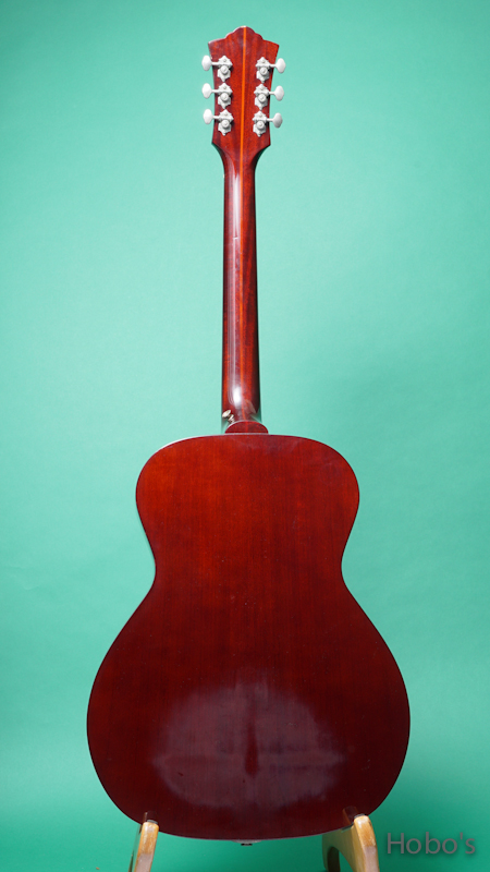 "GUILD F-40 ""Red Spruce Top""  BACK"