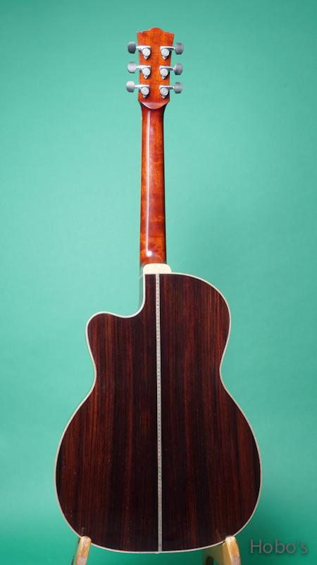 "Frayns Guitars (磯田 洋介) FRG-OOO-12-IN ""高野寛セレクトモデル"" BACK"
