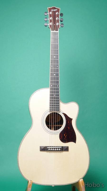 "Frayns Guitars (磯田 洋介) FRG-OOO-12-IN ""高野寛セレクトモデル"" FRONT"